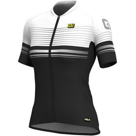 Alé Cycling Graphics PRR Slide Kortärmad cykeltröja Dam vit/svart